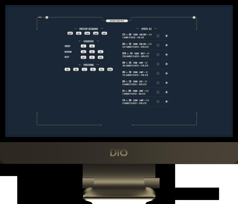 DTO Poker Web App